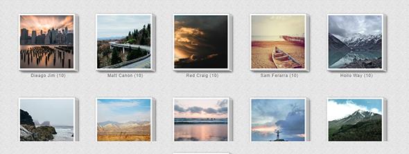 Galeria - Ultimate WordPress Album, Photo Gallery Plugin - 1